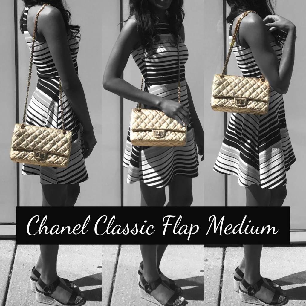 49c70a8365510a Chanel Classic Flap Size Comparison - PurseBop