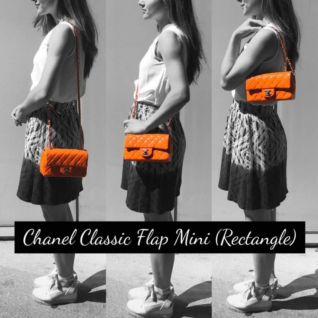 74281420a9a2 Chanel Classic Flap Size Comparison - PurseBop