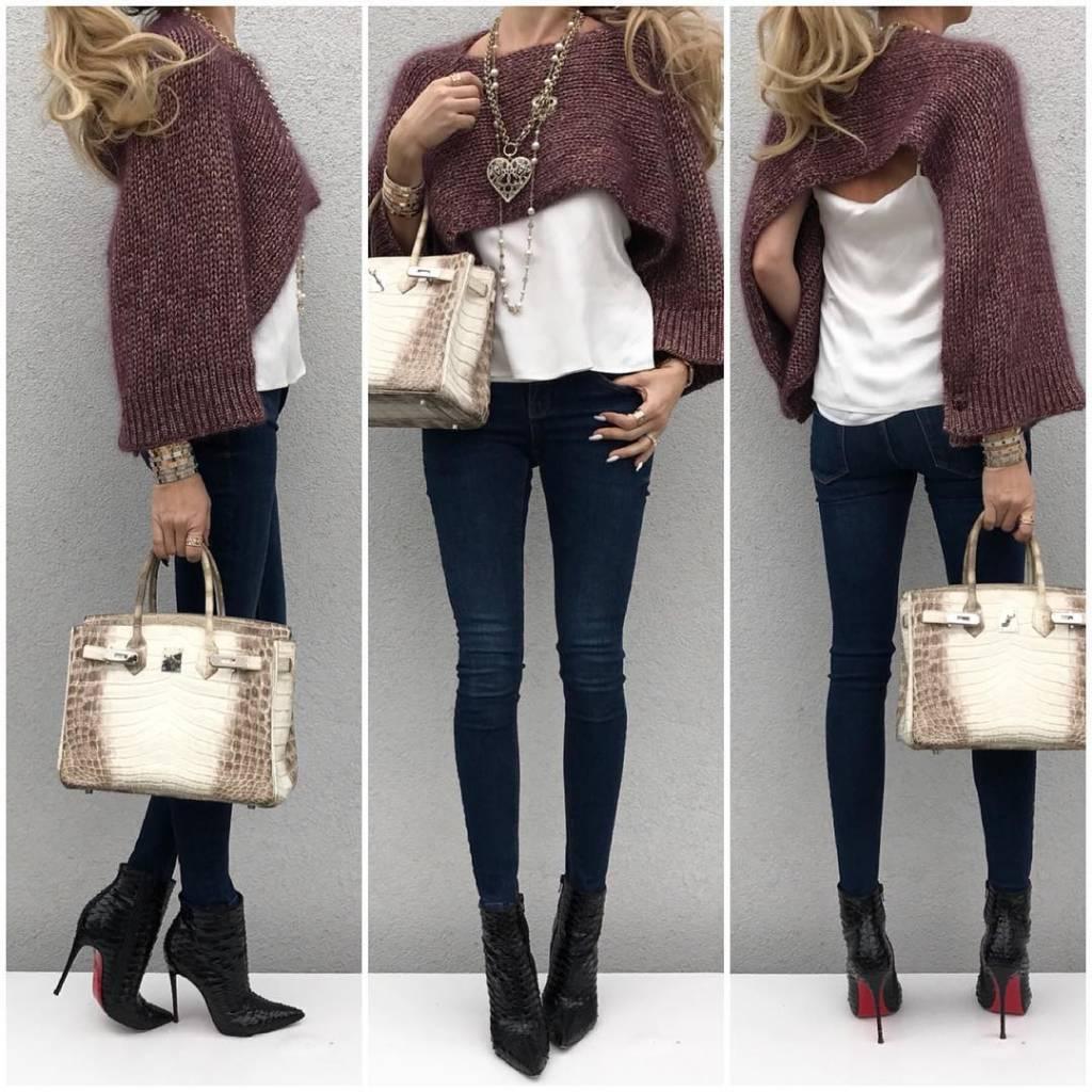 @upcloseandstylish styles her Himalayan Birkin