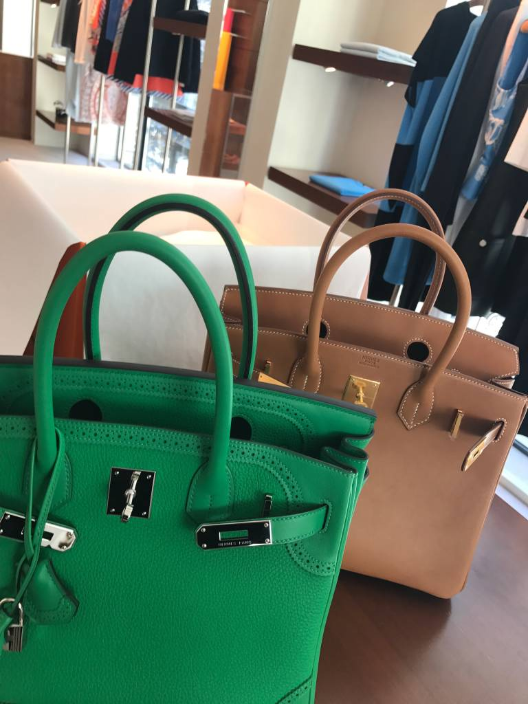 Birkins old and new