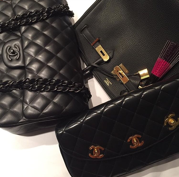 Black is the most popular handbag color