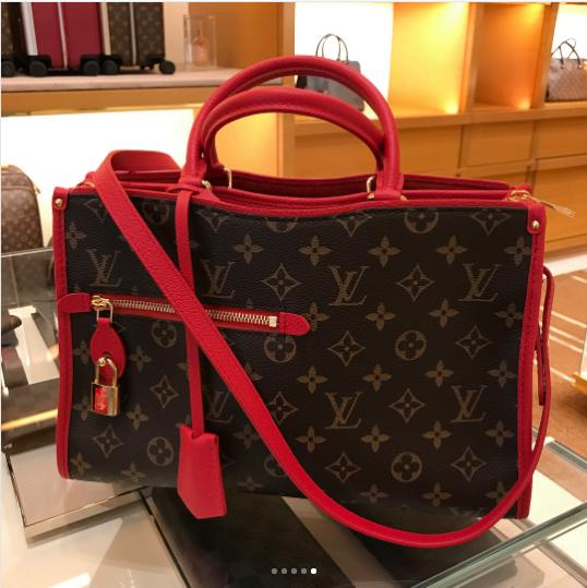 Louis-Vuitton-Red-Monogram-Canvas-Popincourt-PM-Bag-1