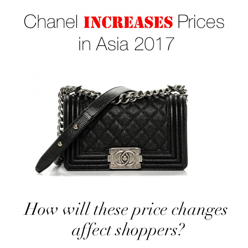 4ca8a214c6850a Chanel Increases Prices in Asia 2017 - PurseBop