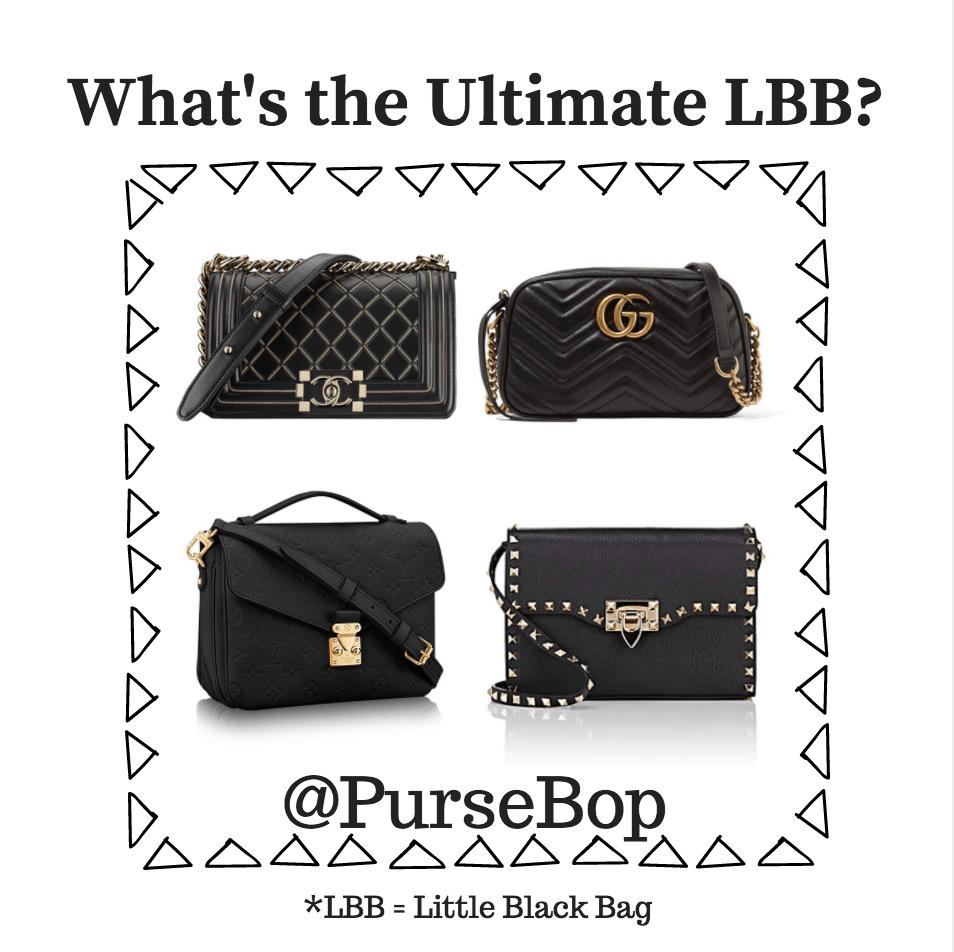 01ae21917d Little Black Bag  The Ultimate Versatility Bag - PurseBop