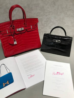 e9d5bf9df2 PurseBop Personally Welcomes You to Christie s New York Holiday Auction