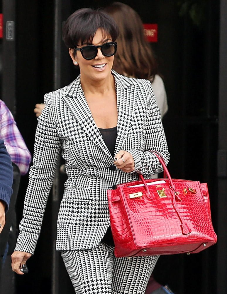 a5ade8f46a5 The Lady on the Couch  Kris Jenner s Birkin - PurseBop