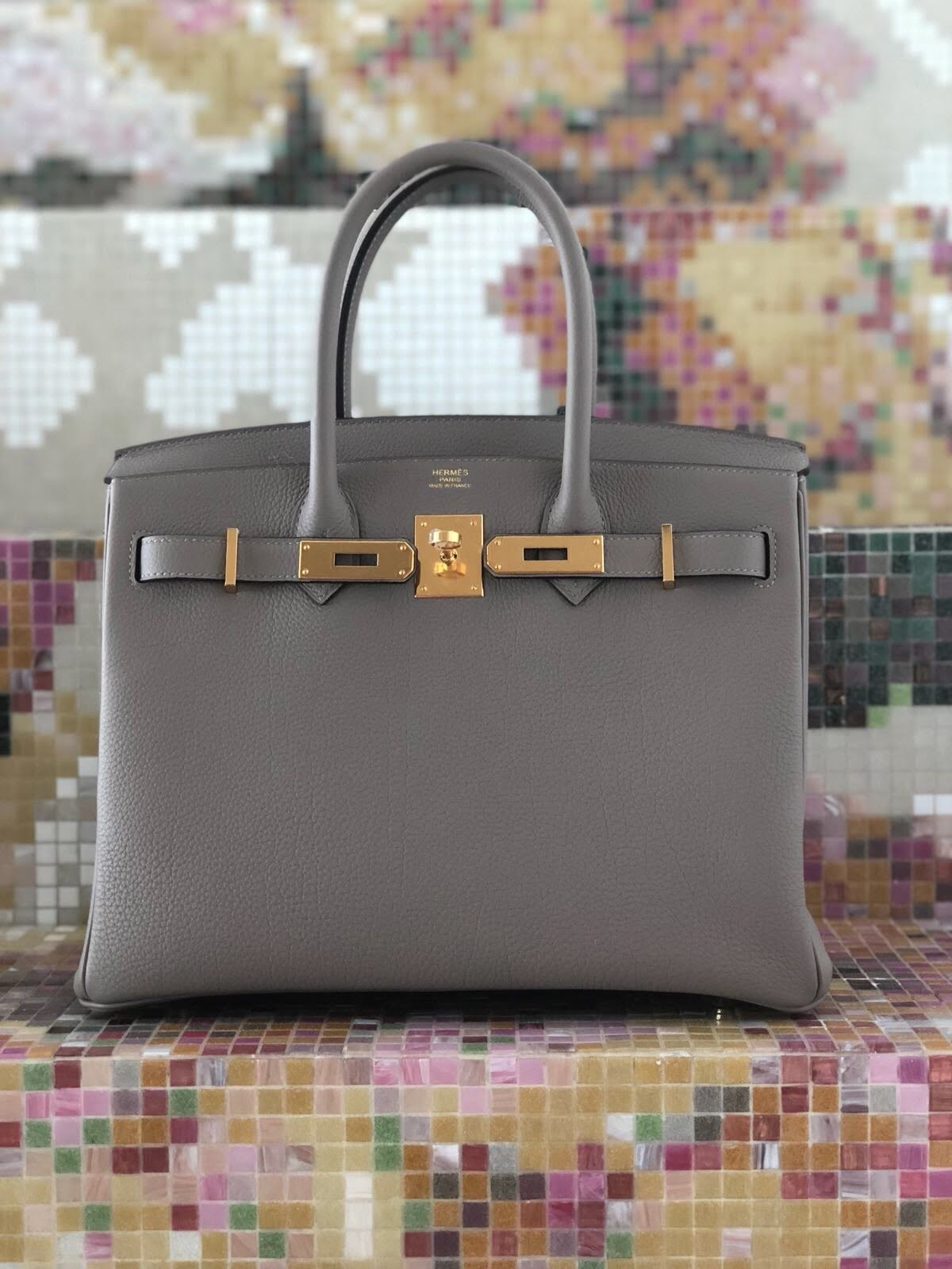 81ec73bf4a Upcloseandstylish and Her Perfect Neutral Birkin - PurseBop