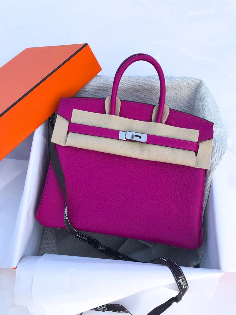 Tickled Pink With A Dash Of Hermes Rose Pourpre Pursebop