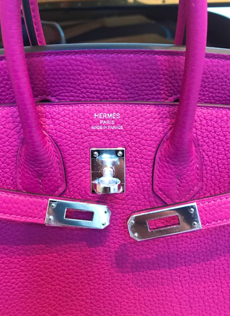 37a407ff255 Tickled Pink with a Dash of Hermès Rose Pourpre - PurseBop