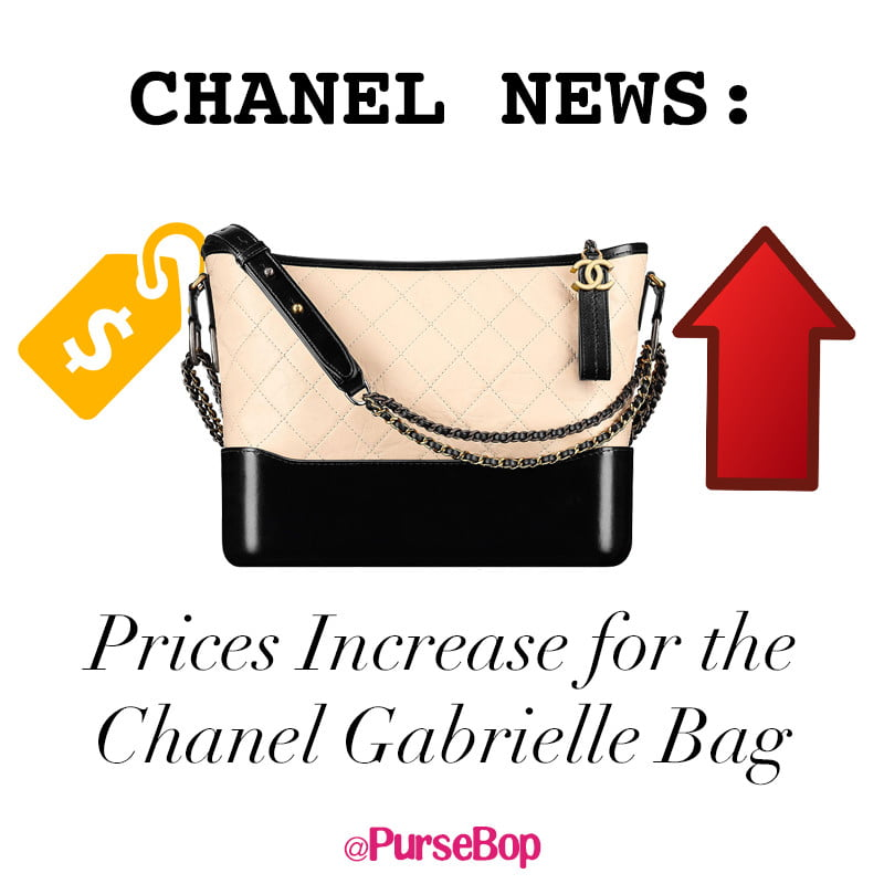 chanelgabrielle price increase 2