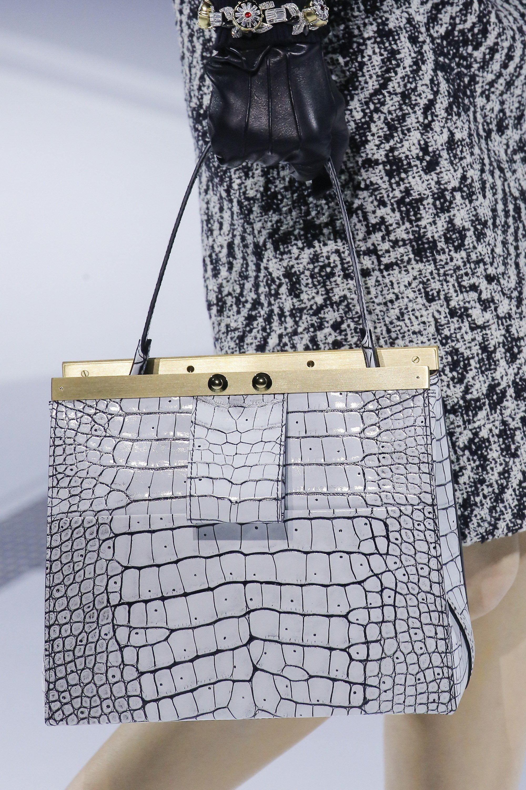 3f9105eb3587 Louis Vuitton Goes Elegant and Futuristic for Fall 2018