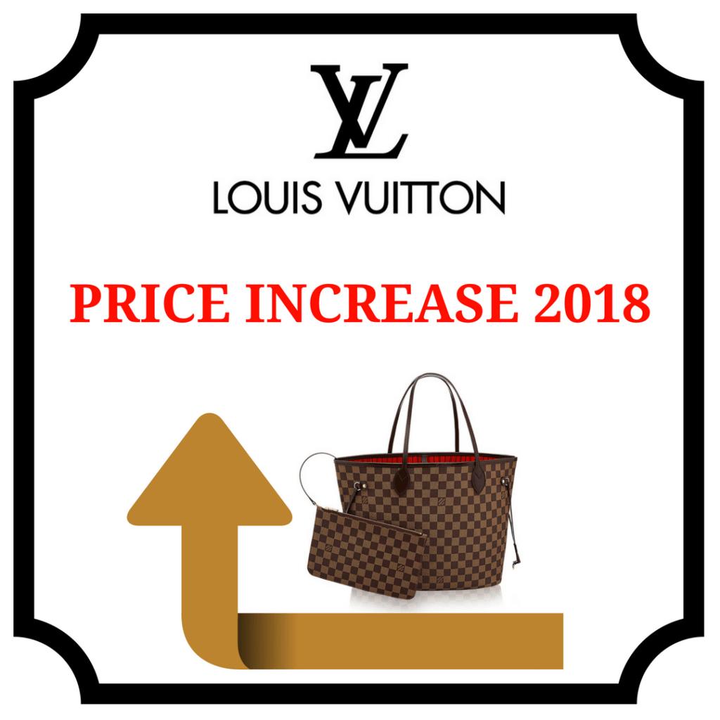 d334dfd81e6 Louis Vuitton Price Increase 2018 - PurseBop