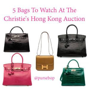 Christie's Hong kong auction 2018 hermes so black exotic hermes fuchsia lizard birkin 30