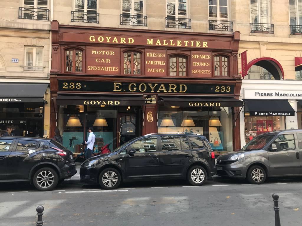 goyard paris store