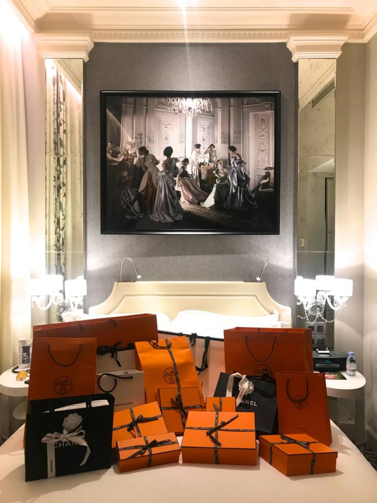 Sofitel hotel Paris shopping in Paris