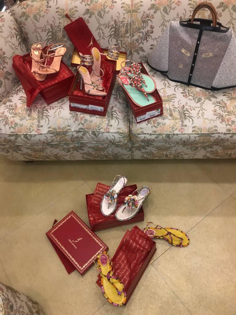 rene caovilla shoes paris