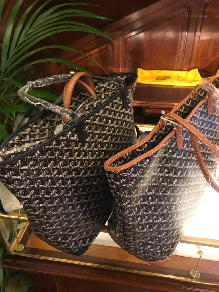goyard artois pm goyard tote mm black