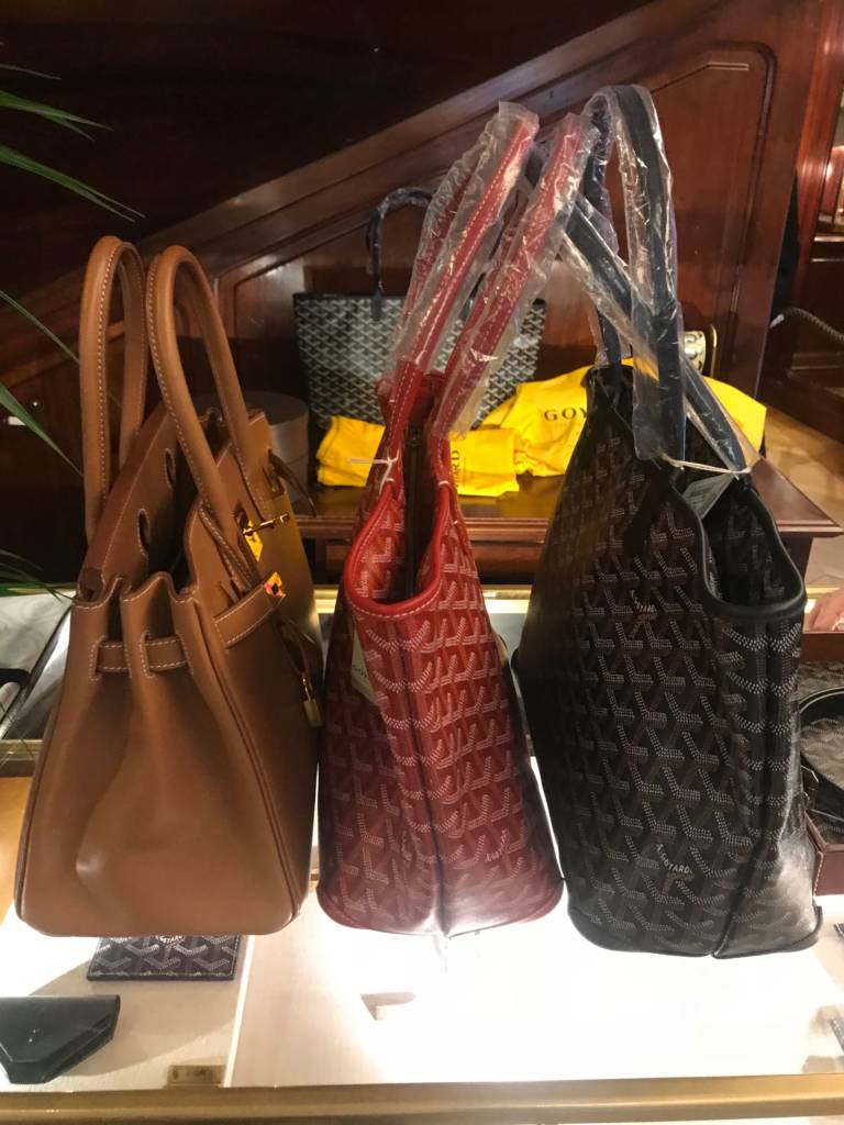 goyard artois tote mm black goyard artois tote red pm barenia leather birkin