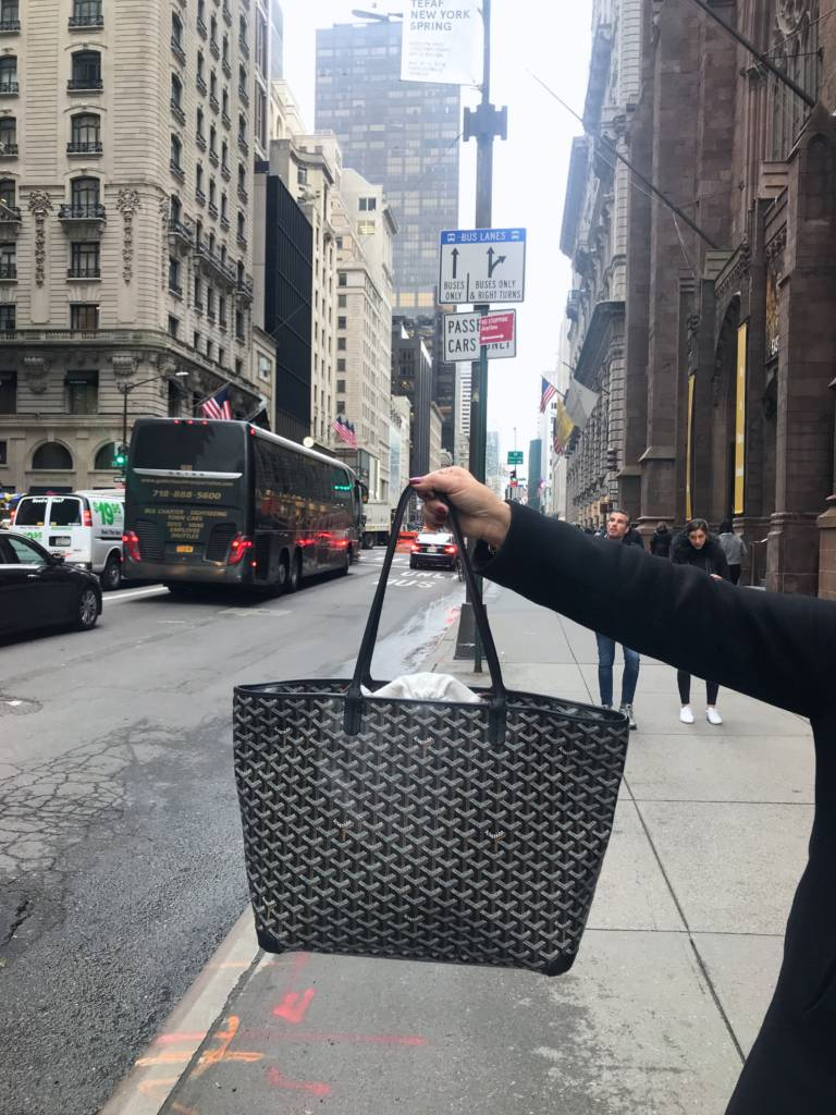 goyard artois tote mm black NYC