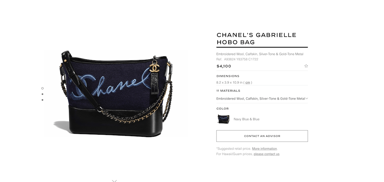 4cda3f28dd30 Gabrielle prices spiked on chanel.com. $300-$400 (or roughly 8-10%) per bag.  And we have the proof. Upon hearing that another increase was coming, ...