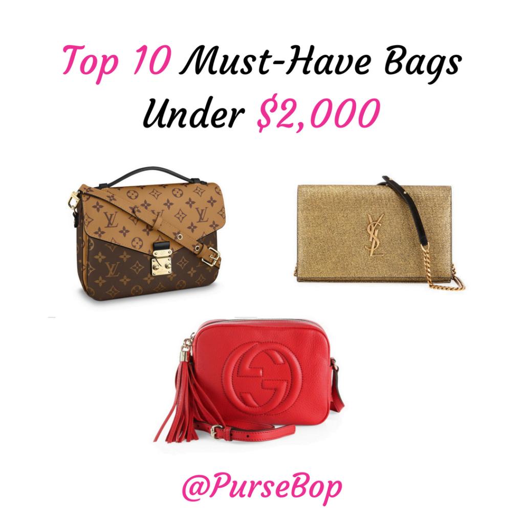 872e6b1f9d8 Best Designer Handbags Under $1000