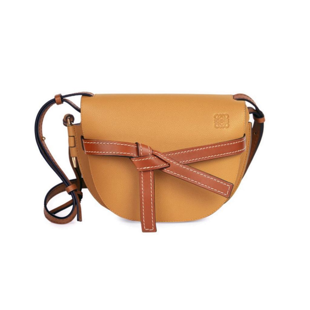 Loewe Gate Small Leather Bag Via Saks