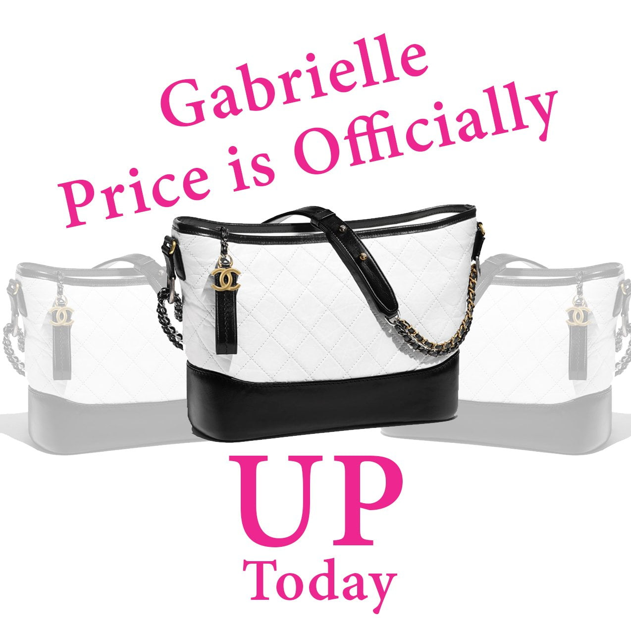 47dd4bad42df It's Official: Chanel Gabrielle Prices are Up - PurseBop