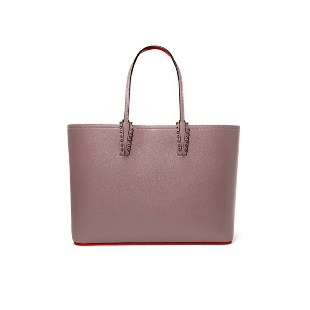 cfd3927690 Christian Louboutin Cabata Spiked Textured-Leather Tote via Net-a-Porter