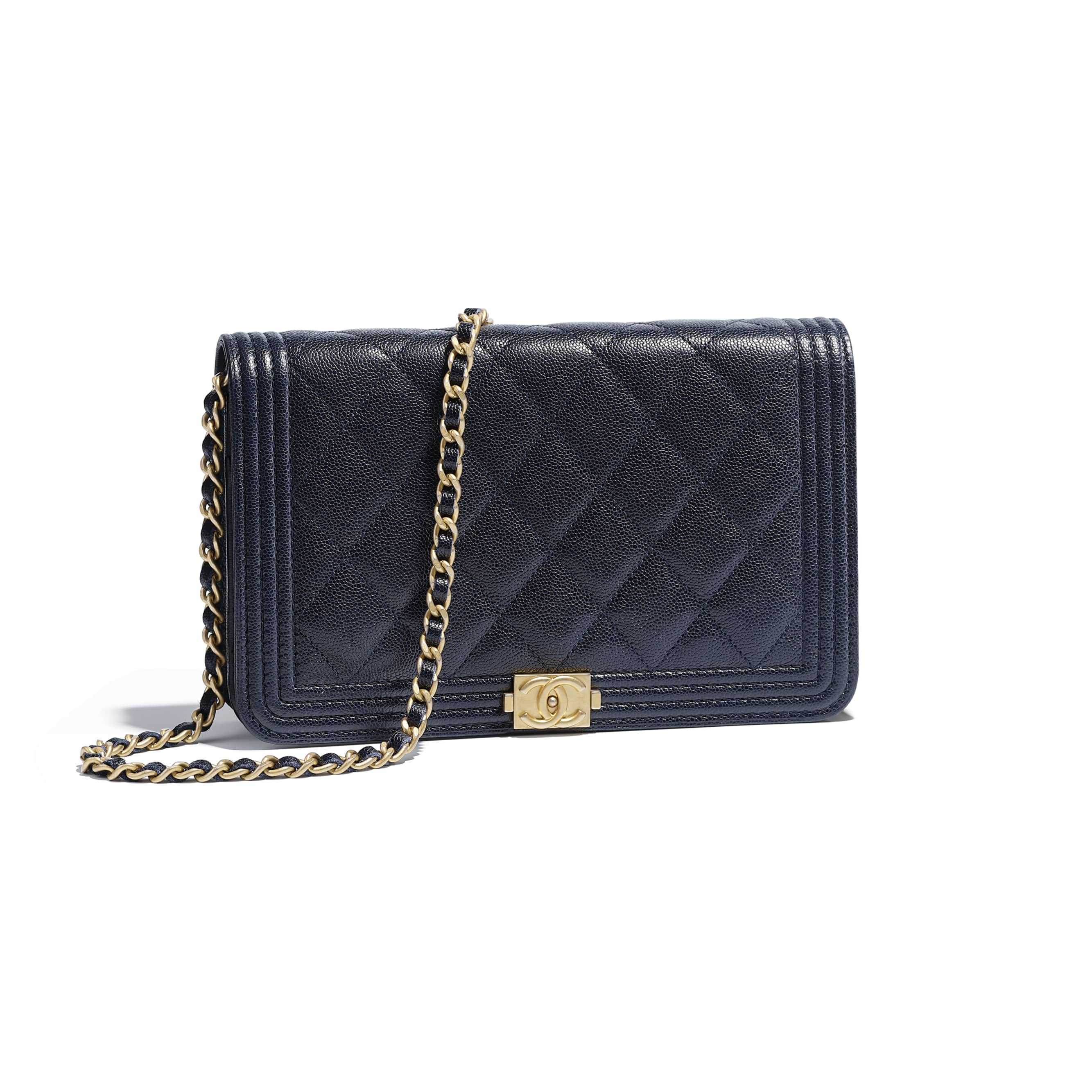 1a7015cef8 boy-chanel-wallet-on-chain-navy-blue-grained-calfskin-gold-tone ...