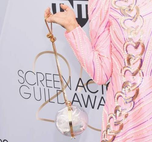 Kate-Nash-in-Manish-Arora-at-SAG-Awards-2019-red-carpet-Getty-The-Luxe-Lookbook