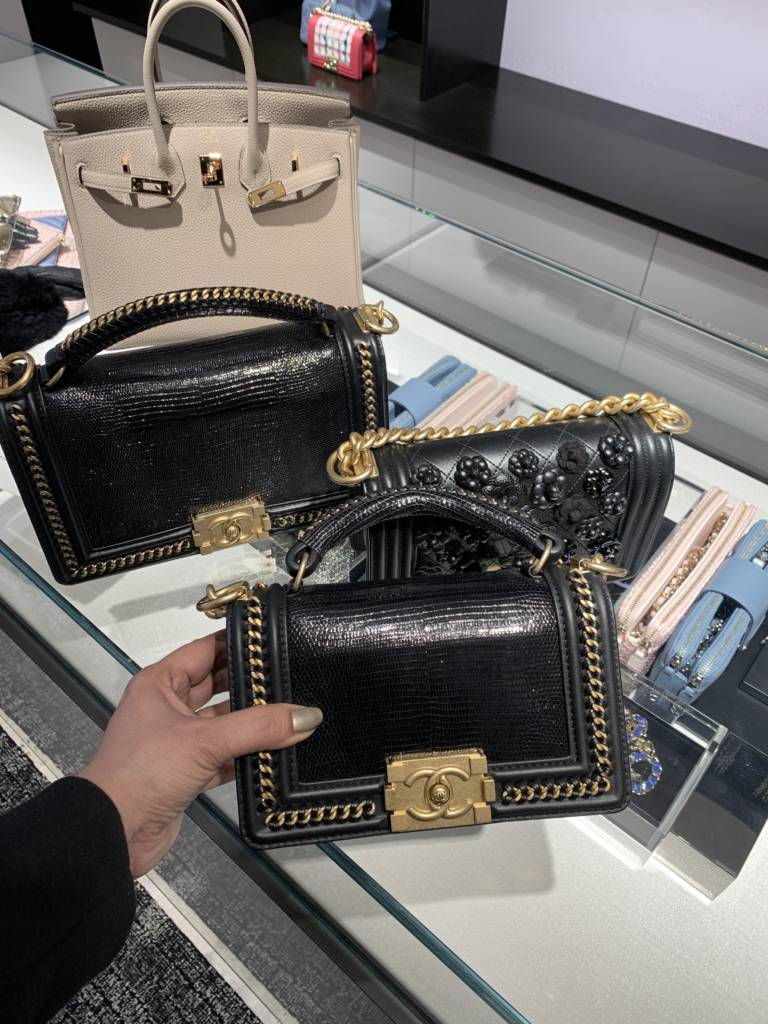 Chanel chicago new store opening Chanel Boy Handle Small