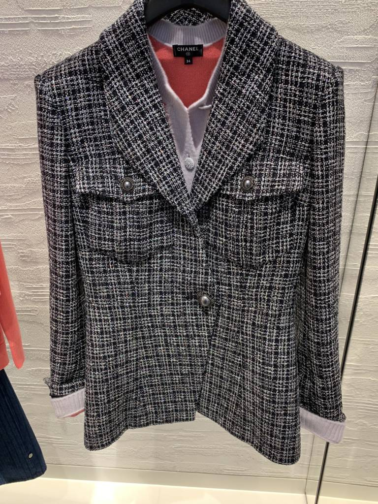 new chanel jacket cruise 2019 Chanel chicago new store opening