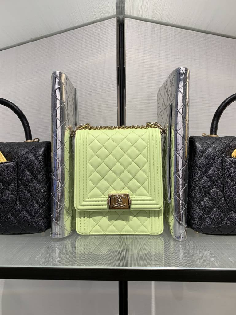 Chanel chicago new store opening boy bag
