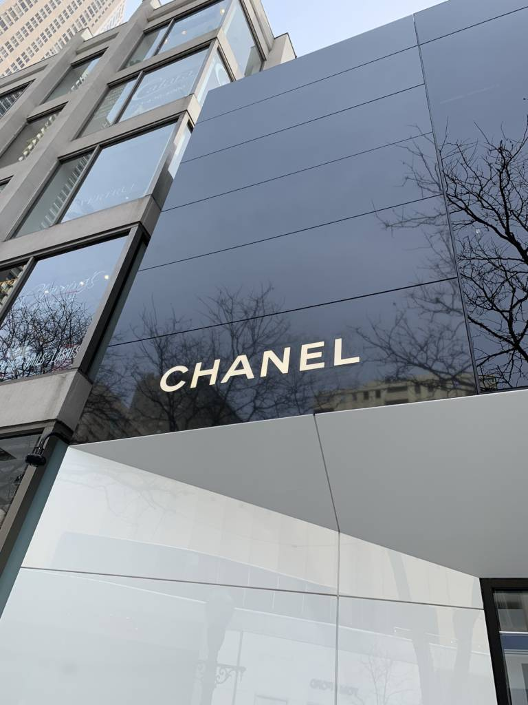 Chanel chicago new store opening