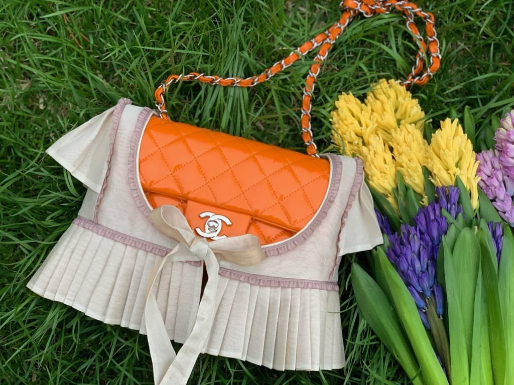 pursebop frocks chanel classic jasmine frock purse frock