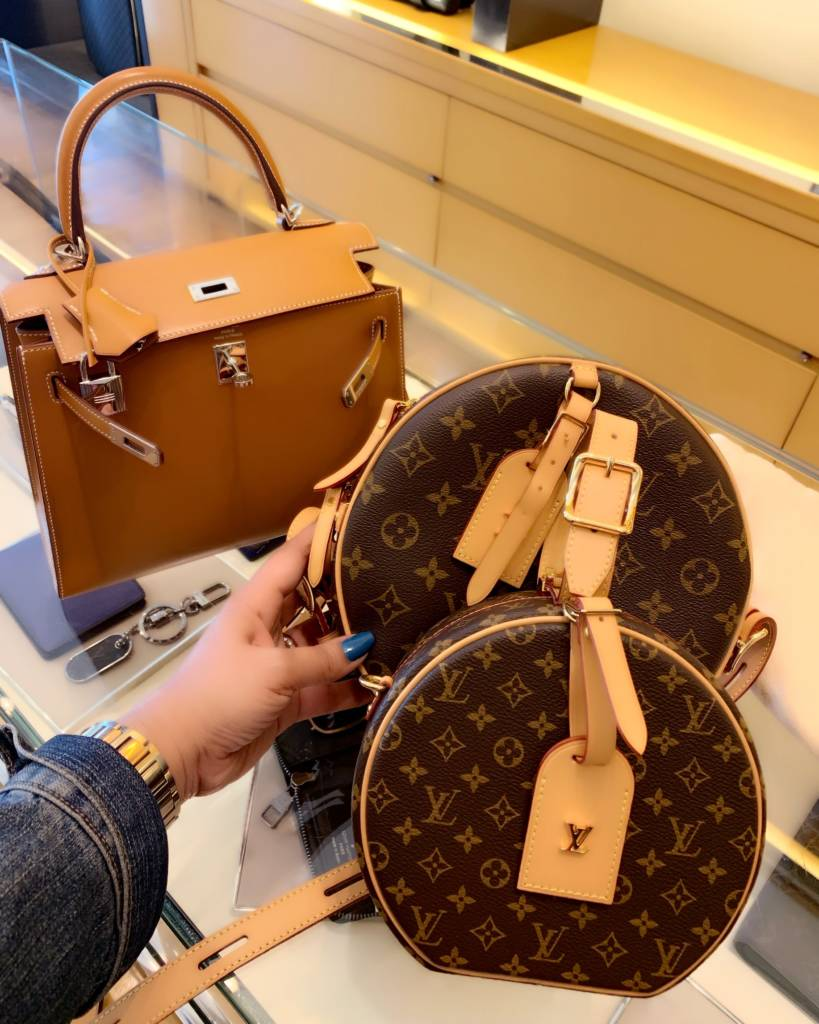 Louis Vuitton Petite Boite Chapeau vs Souple version