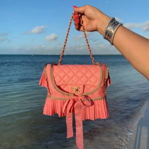 chanel mini pink 19S chanel classic mini pursebop frocks lulu frocks hermes cdc 5p pink dior sandals