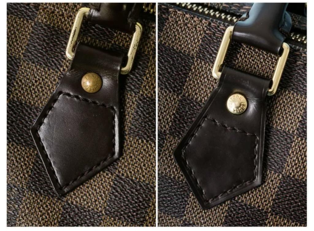Fake bag stitching
