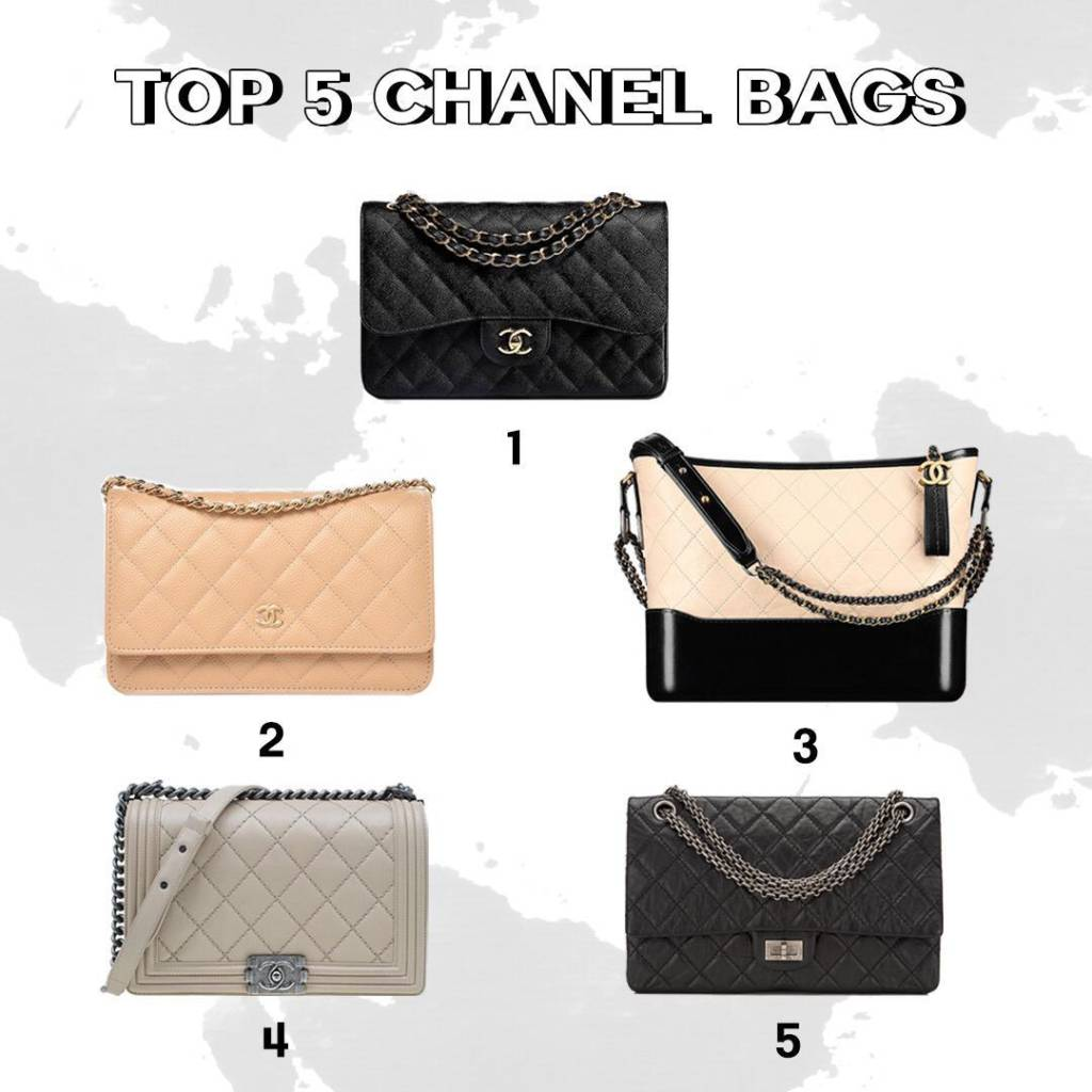 Top 5 Chanel bags