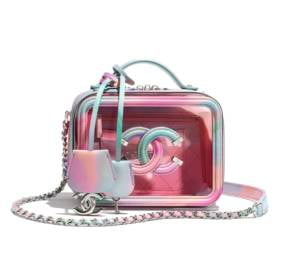 Small Vanity Case/ PVC, and Patent Lambskin, $4400
