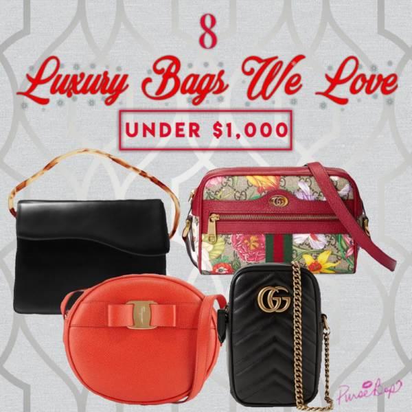 luxury bags under 1000
