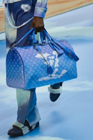 Louis Vuitton mens fall 2020 lv clouds collection multi bagging LV mens Virgil abloom