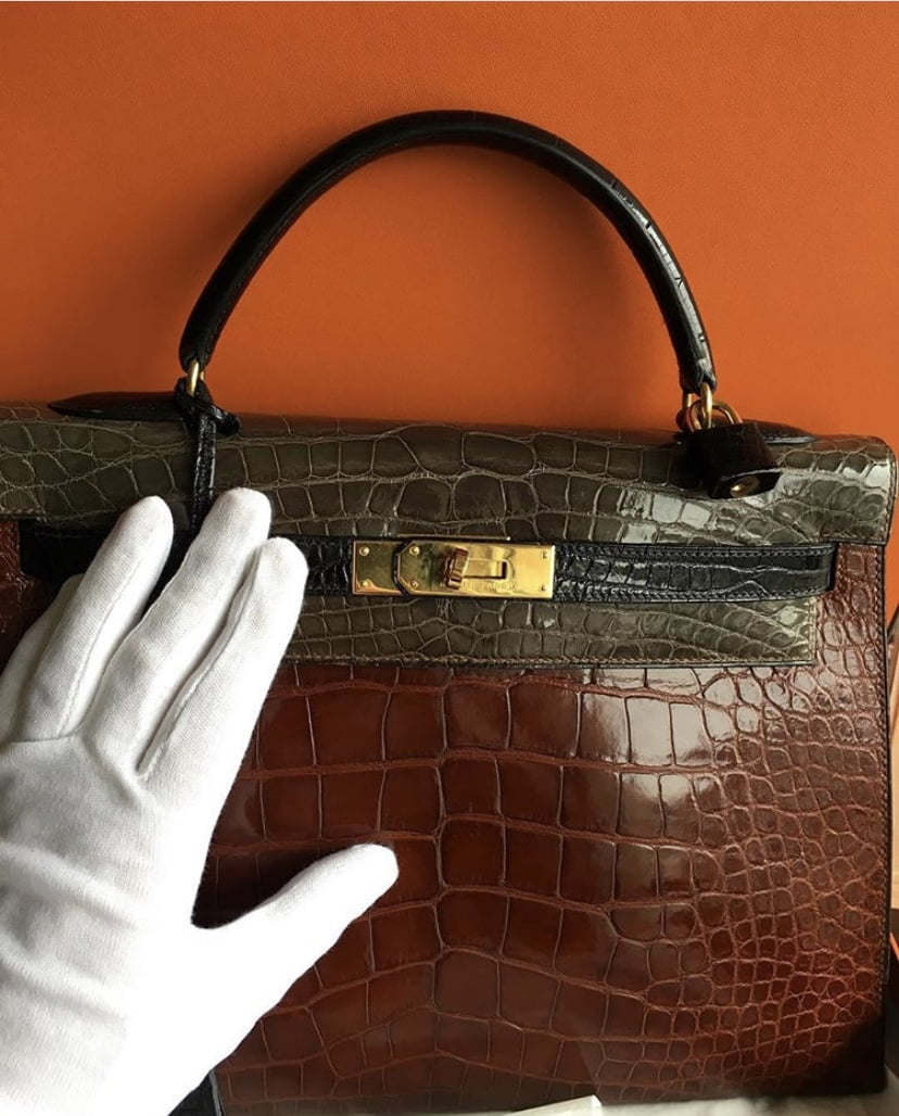 Cleaning your Hermes Bag