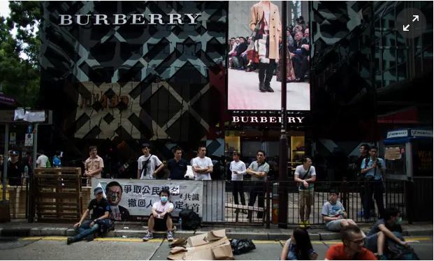 Demonstrations in Hong Kong