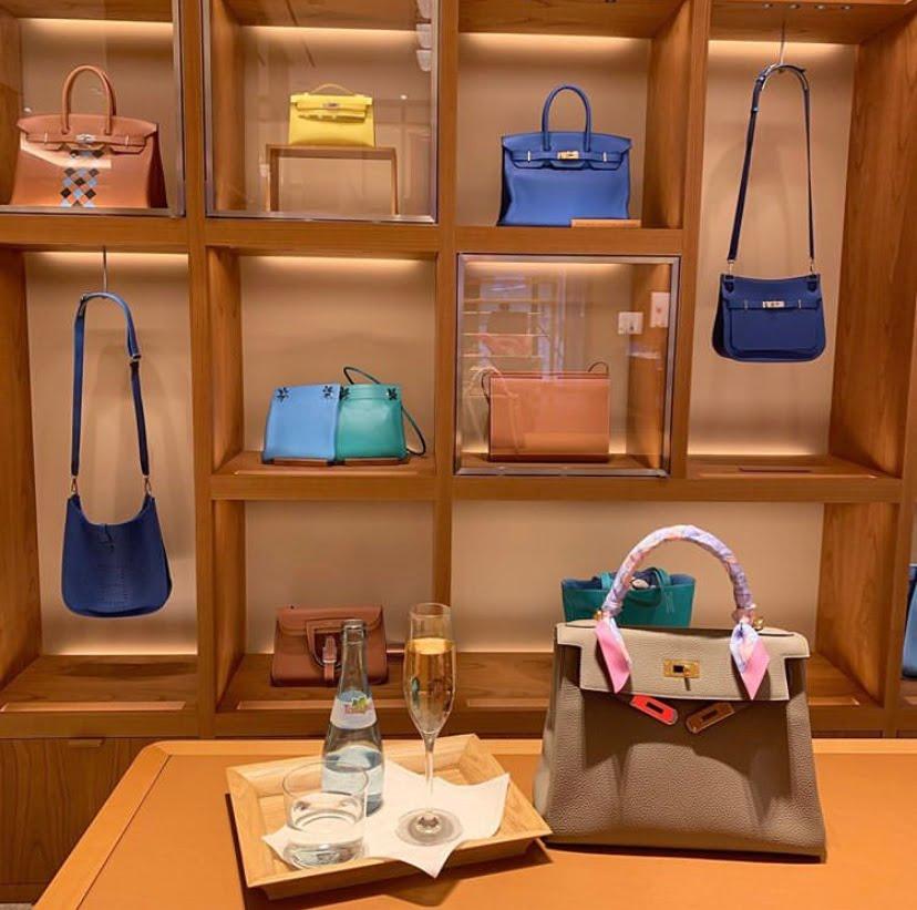 Hermès store experience