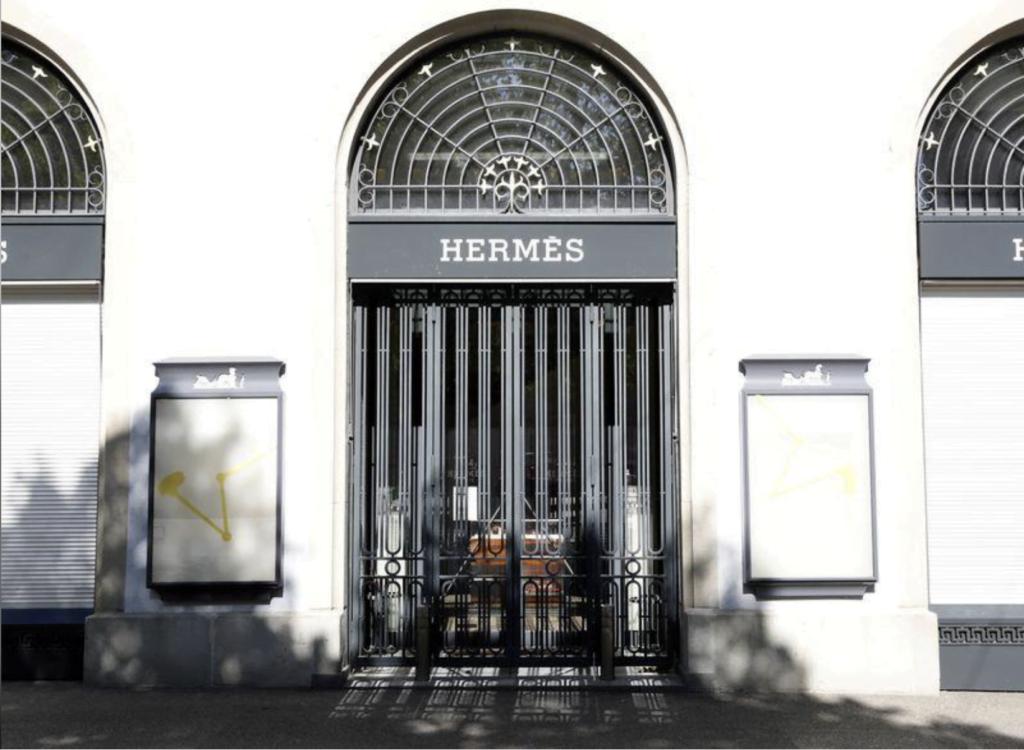 Hermès Stores Closed During Coronavirus