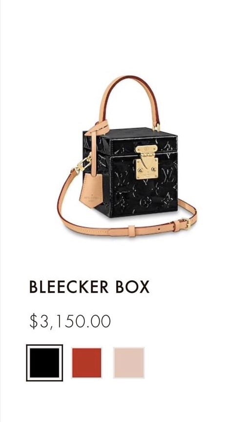 LV Bleecker Box 2019 Price