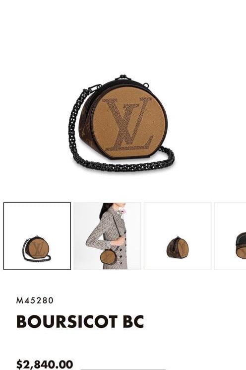 LV Boursicot BC 2020 Price