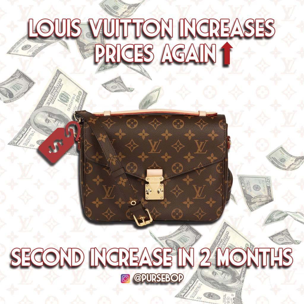 Louis Vuitton prices 2020 Metis Pochette LV Louis Vuitton prices