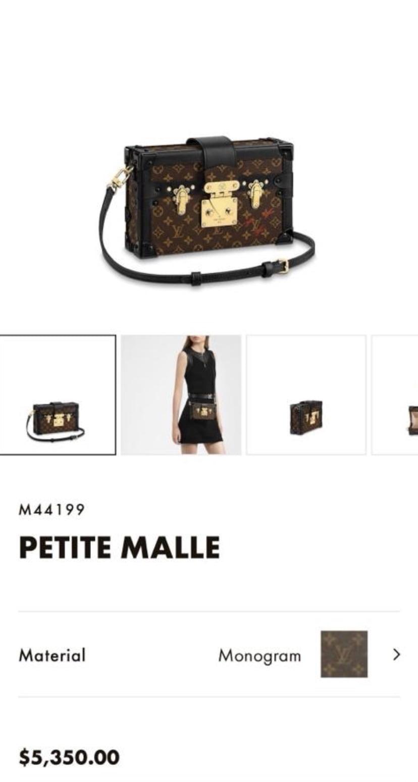 Louis Vuitton Petite Malle 2020 Price